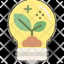 Eco Idea Idea Plant Icon