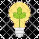 Eco Idea Innovation Bright Idea Icon
