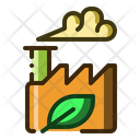 Eco Industry Factory Icon