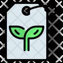 Label Tag Eco Icon