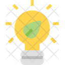 Ecology Lamp Light Icon