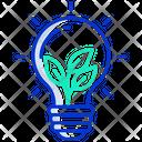 Eco Lamp Icon
