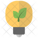 Ecology Plant Bulb Eco Light Icon