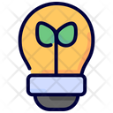 Eco Light Ecology Lightbulb Icon