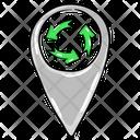 Eco Location Icon