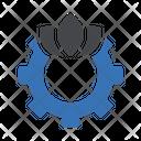 Cogs Wheel Setting Icon