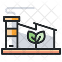 Eco Manufacturing Ecology Eco Factory Icon