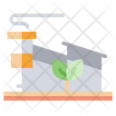 Eco Manufacturing Eco Factory Ecology Factory Icon