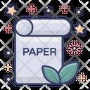 Eco Paper Eco Document Eco Doc Icon