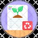 Eco Paper Icon