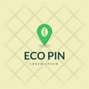 Eco Pin Icon