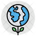 Eco Planet Ecology Eco World Icon