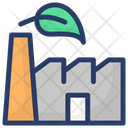 Eco Plant Ecology Factory Unit Icon