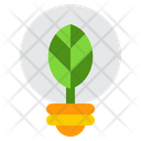 Eco Plant Nature Lamp Icon