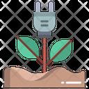 Eco Plug Energy Ecology Icon