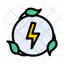 Power Eco Green Icon