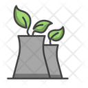 Eco Production Production Eco Factory Icon