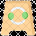 Eco Recycle Caution Icon