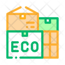 Eco Recycle Material Icon