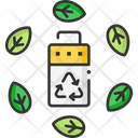 A Eco Battery Eco Battery Ecology Battery Icon
