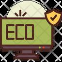 Eco Safety Icon
