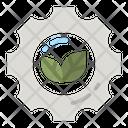 Eco Setting Icon