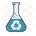 Eco Substance Recycle Science Icon