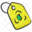 Eco Tag Eco Label Eco Coupon Icon