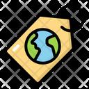 Eco Tag Eco Label Label Tag Icon