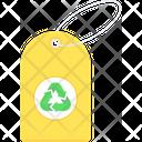 Eco Tag Label Icon