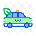 Online Taxi Business Icon