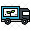 Truck Vehicle Plant Icon