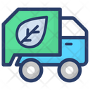 Recycling Garbage Truck Garbage Vehicle Eco Truck Icon