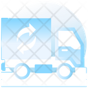 Eco Truck Plant Truck Delivery Truck Icon