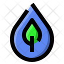 Water Leaf Ecology Icon
