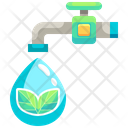 Eco Water Icon