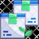 Ecofriendly delivery Icon