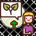 Ecofriendly Speaker Icon