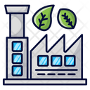 Ecologic Companies Factory Industry Icon