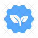 Badge Eco Friendly Icon