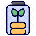 Battery Level Eco Battery Ecology Icon