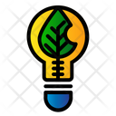Ecological Bulb Icon