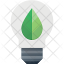 Ecological Bulb Light Icon