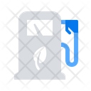Ecological Fuel Pump Icon