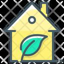 Home House Eco Icon