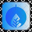 Leaf Power Ecology Icon