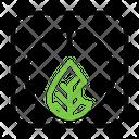 Ecological Power Button Icon