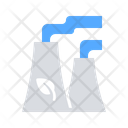 Ecological Power Plant Icon