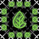 Core Leaf Energy Icon