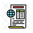 Ecological Report Color Icon